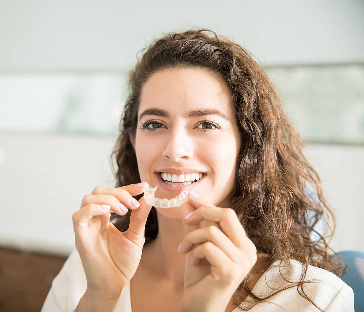 Invisalign Dentist in Burlington Area Helps You Achieve the Smile You've Always Wanted